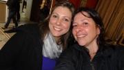 Christina Schuler e Elaine Castro