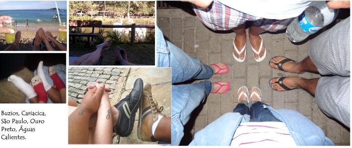 nosso pés