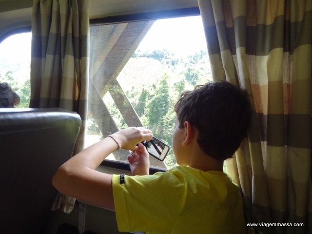 foto na janela
