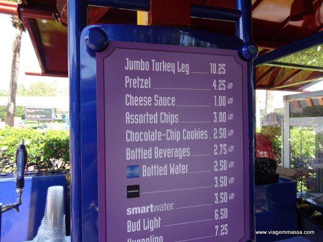 Preço Turkey Disney