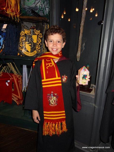 Pronto para Hogwarts