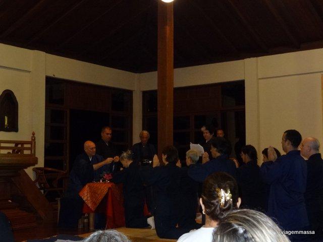 ordenação mosteiro zen budista