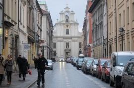 Centro antigo Cracóvia