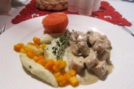 Percheron - Carne de coelho