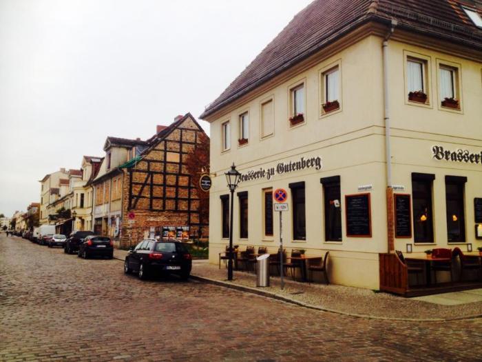 Centro antigo Potsdam