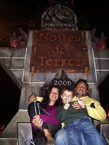 Foto nossa no antigo Playcenter - um ícone de SP!