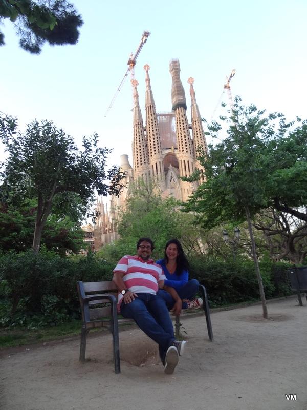 Sonho realizado: conhecer a Sagrada Família
