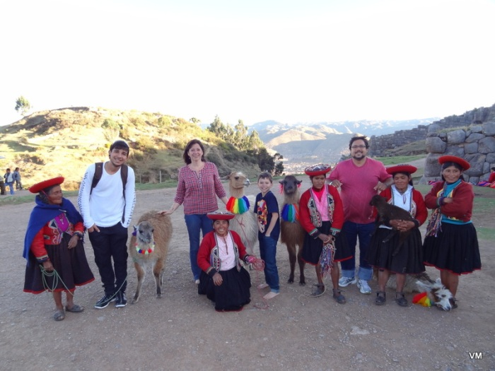 Nós, em Machu Picchu