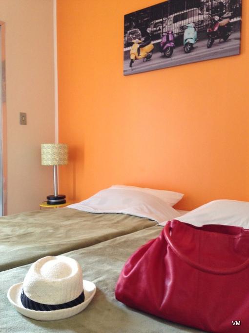 Nosso quarto no Aquarela. Uma graça!