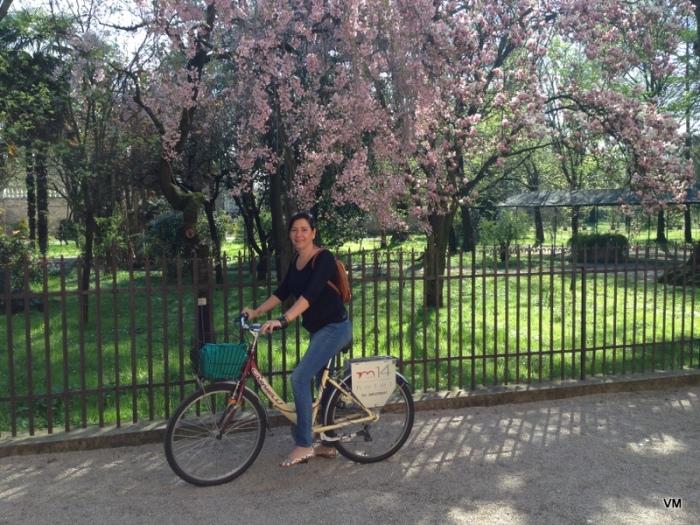 Andar de bicicleta por Padova é uma delícia!